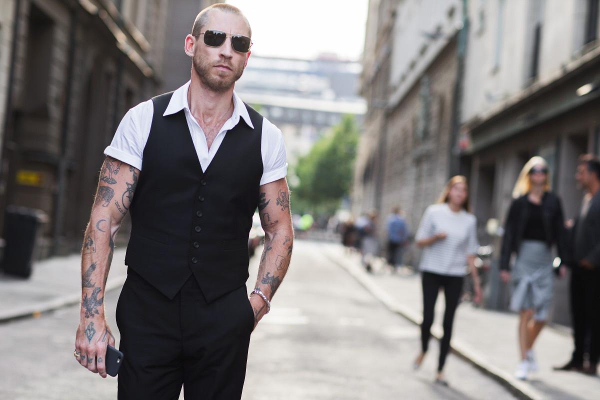 fot. Szymon Brzoska - Style Stalker / EAST NEWS Street Fashion podczas Stockholm Fashion Week SS 2016