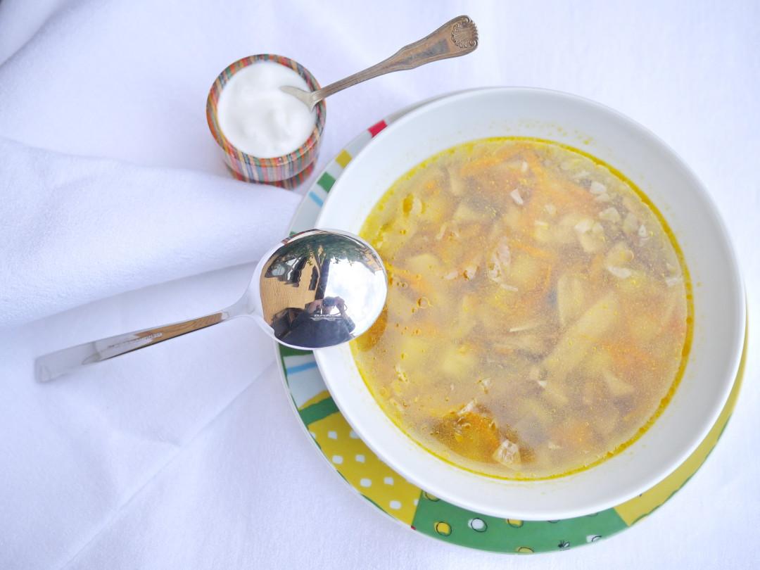 Грибной суп из сухих ФИН