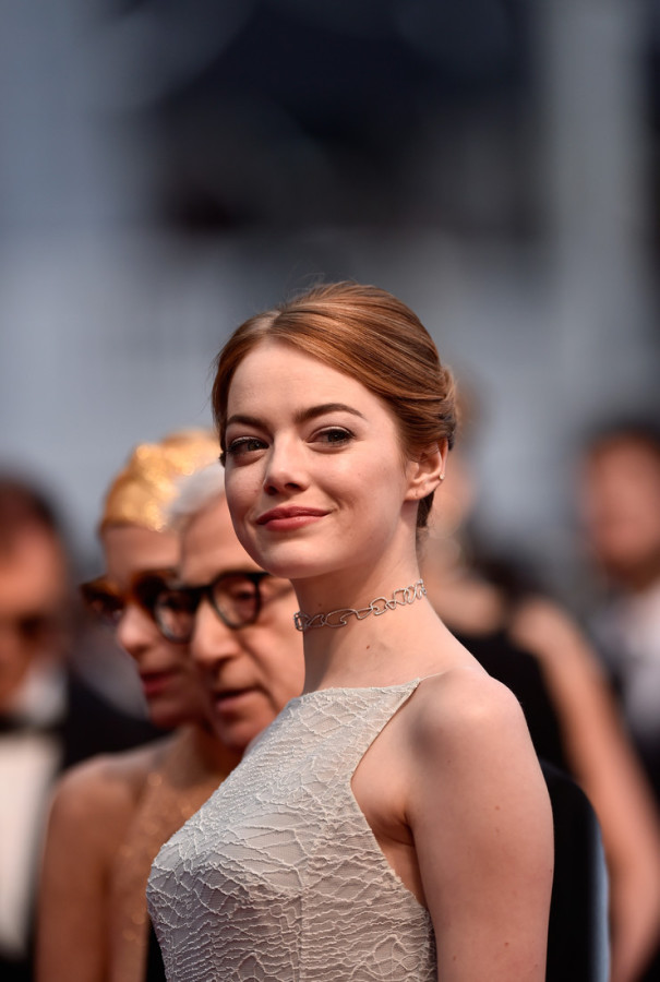 "attends the Premiere of ""Irrational Man"" during the 68th annual Cannes Film Festival on May 15, 2015 in Cannes, France."