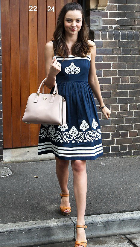 Miranda Kerr in Collette by Collette Dinnigan