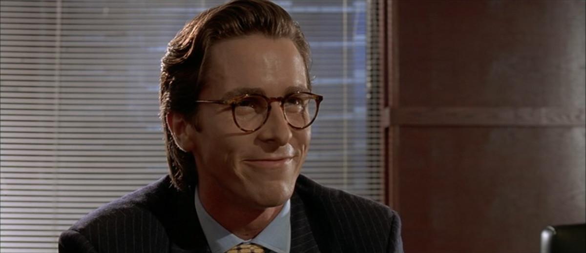 bateman american psycho glasses