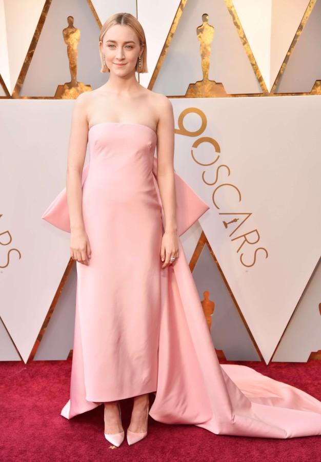 4. Сирша Ронан в платье Calvin Klein by Appointment