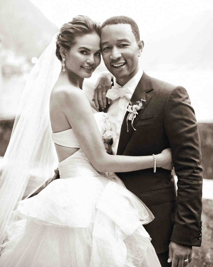 Chrissy-Teigen-John-Legend-wedding, 2013